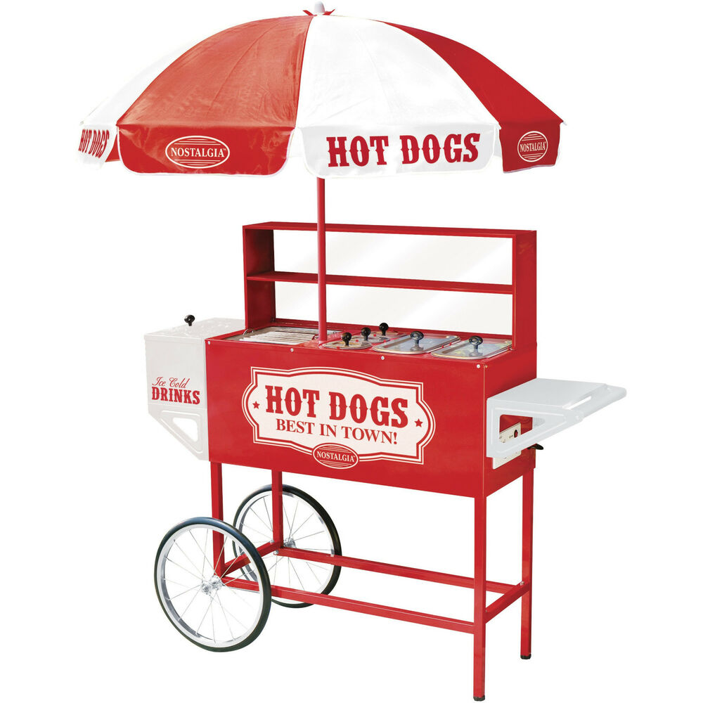 Commercial Hot Dog Cart
