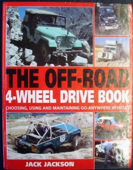the off road 4 wheel drive book jack jackson car book ebay. Black Bedroom Furniture Sets. Home Design Ideas