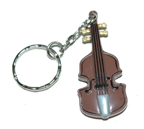 guitar violin cello string bass music key chain kc017 ebay. Black Bedroom Furniture Sets. Home Design Ideas