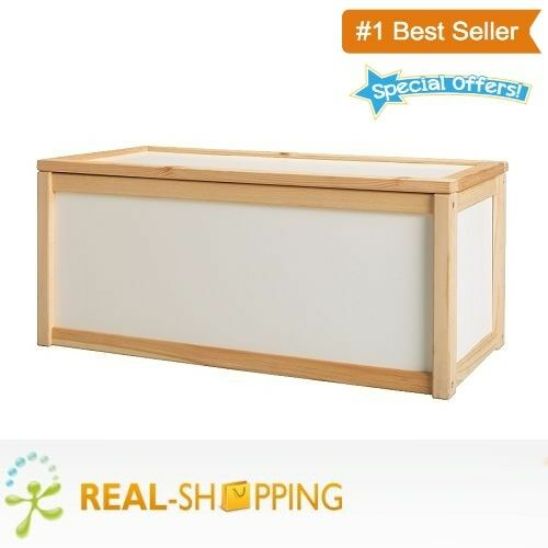 New Wooden Toy Box Storage Unit Childrens Kids Chest Boxes