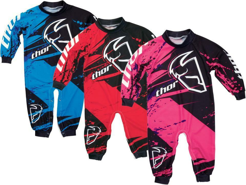 Thor Mx Motocross Race Inspired Pj Pajamas For Infants