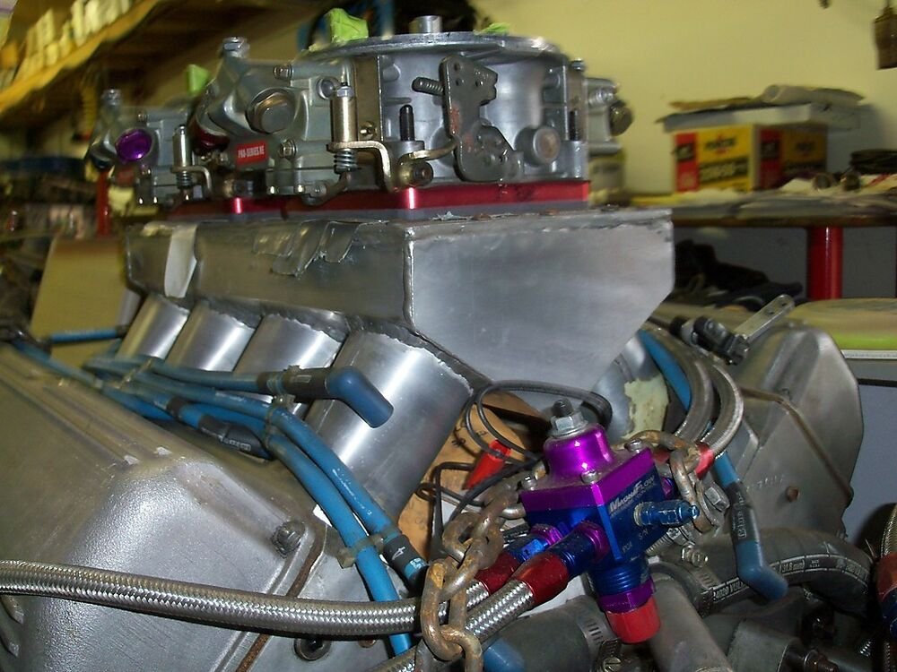 Bb Chevy 500 Cu In Motor Drag Race Engine Olds Pro Stock