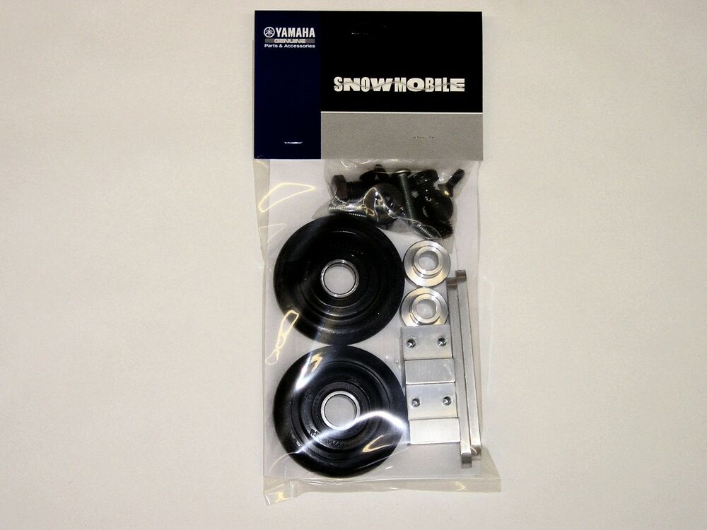 Genuine Yamaha Snowmobile Marginal Snow Wheel Kit Attak