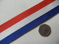 General Service Cross, replacement medal ribbon, full size, x1 medal.