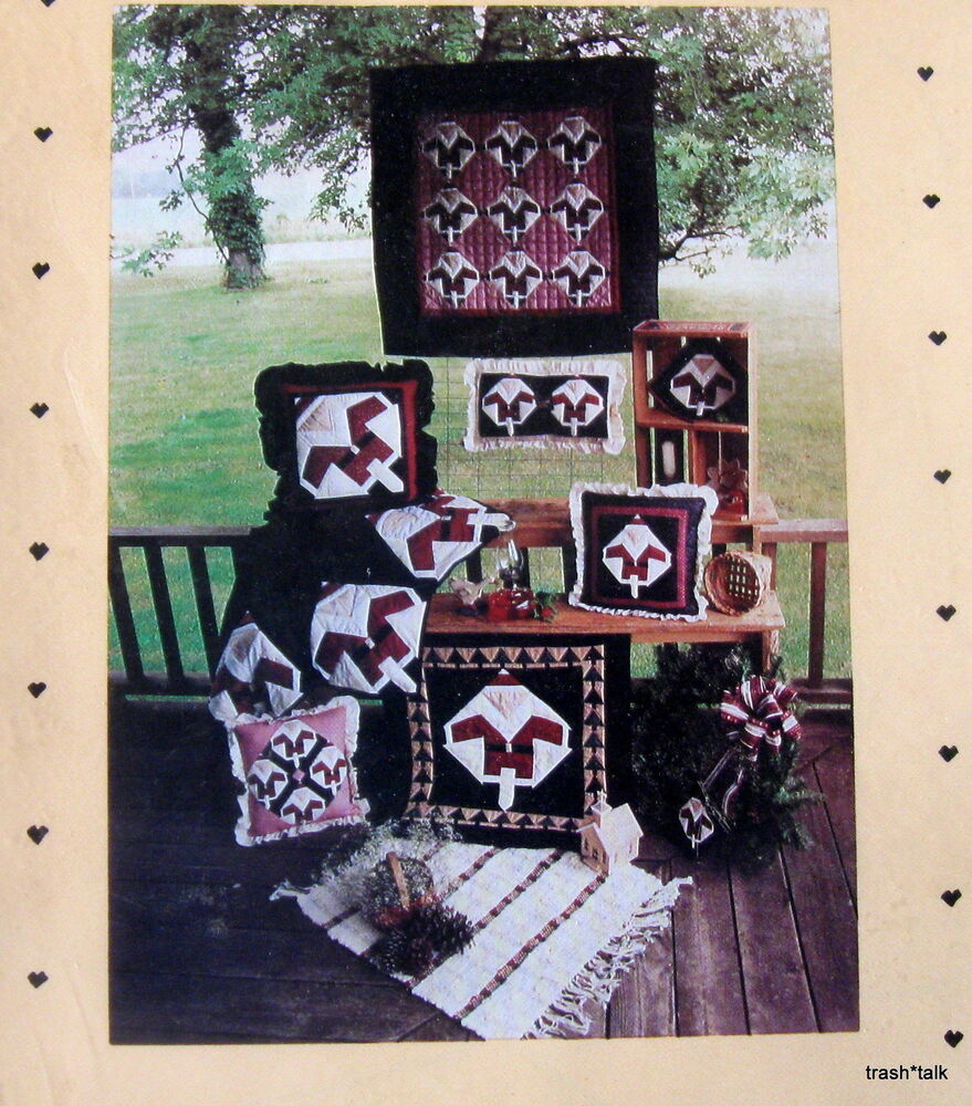 Christmas Quilt Pattern Wallhanging Country Threads
