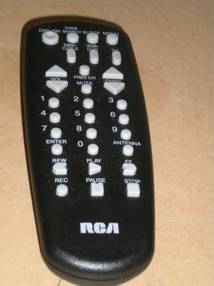 Rca Remote Control For Tv Cable Box Vcr Dss Very Good