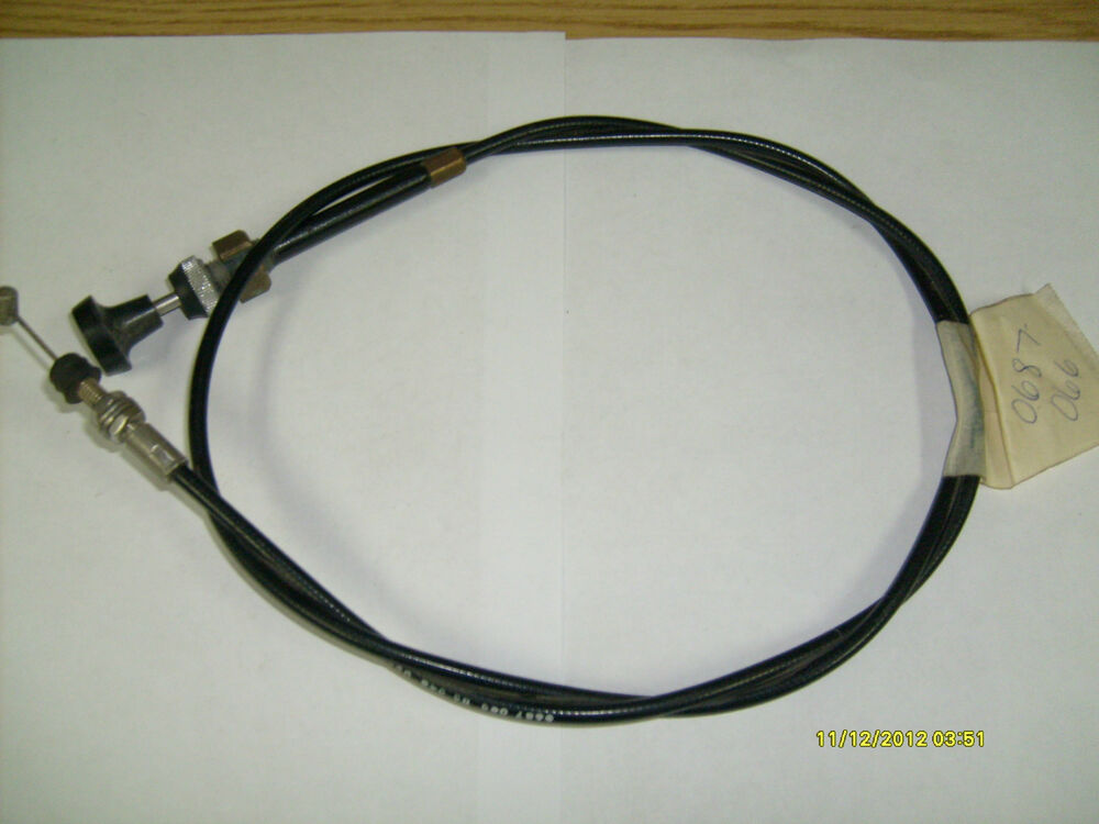 how to cut a choke cable