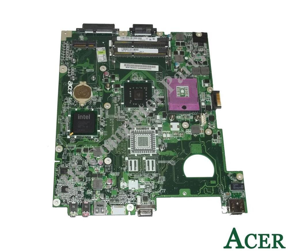 Acer Extensa 5635 Intel Laptop Motherboard S478 Mb Edx06