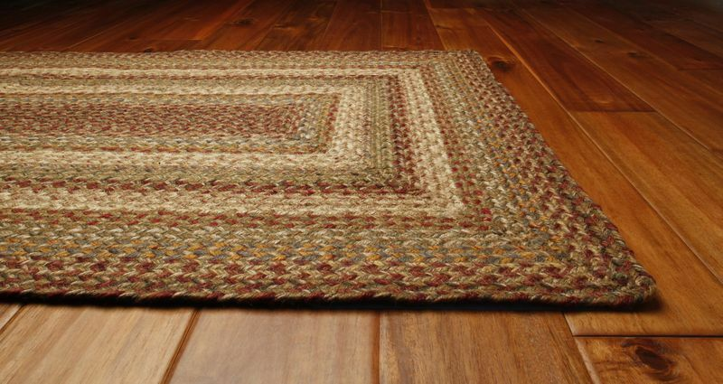 homespice hudson harvest jute braided area rug country