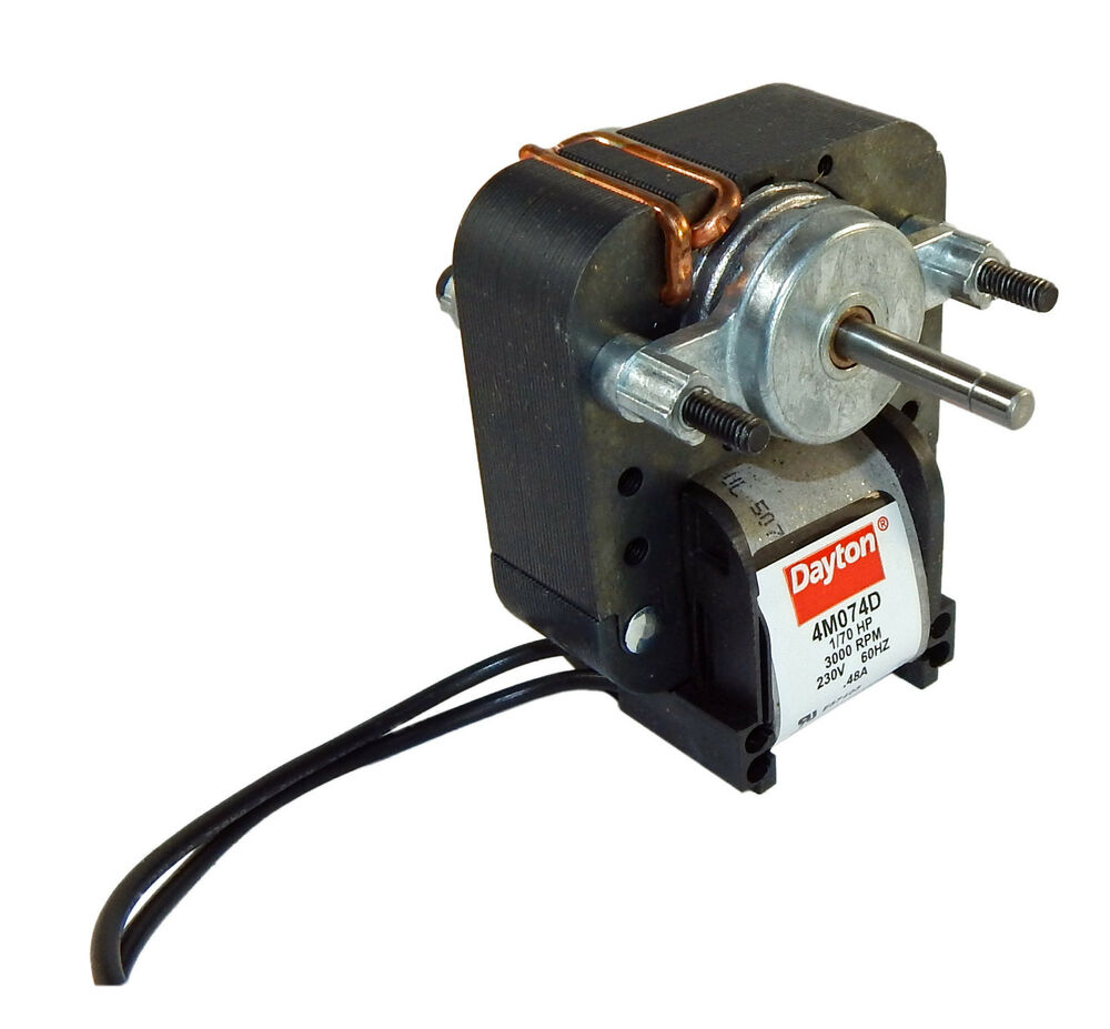 dayton electric c frame vent fan motor 1 70hp 3000 rpm