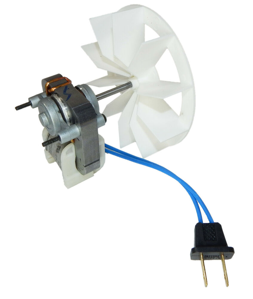 Broan replacement bath ventilator motor and blower wheel for Bath fan motor replacement