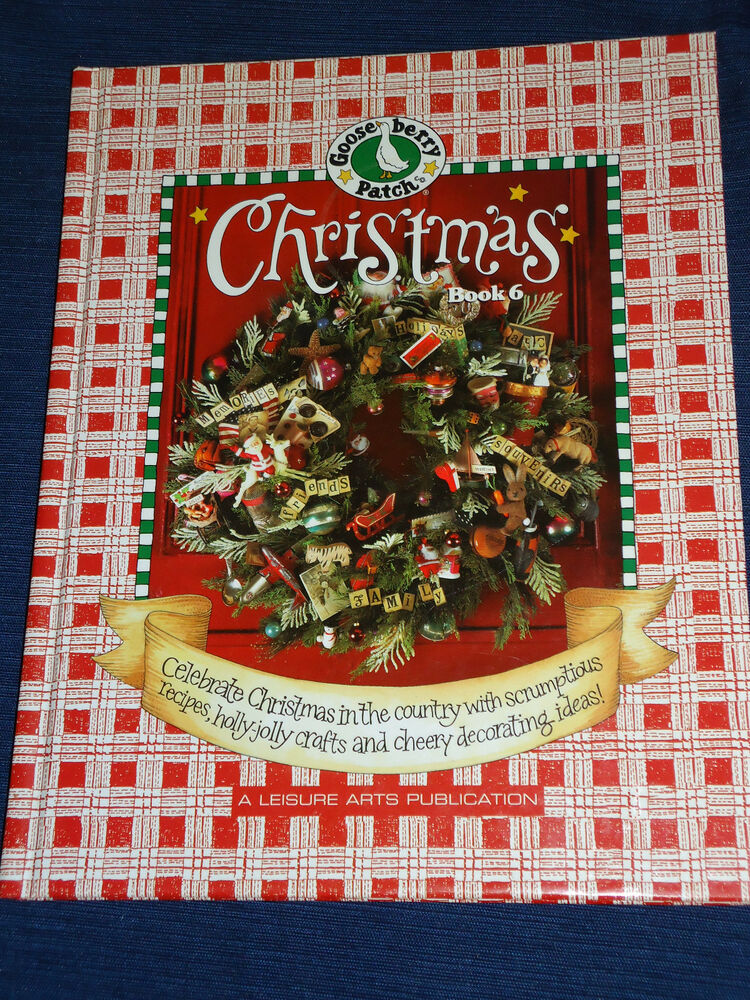 Hardcover Cookbook ~ Gooseberry patch christmas book vol  hardcover