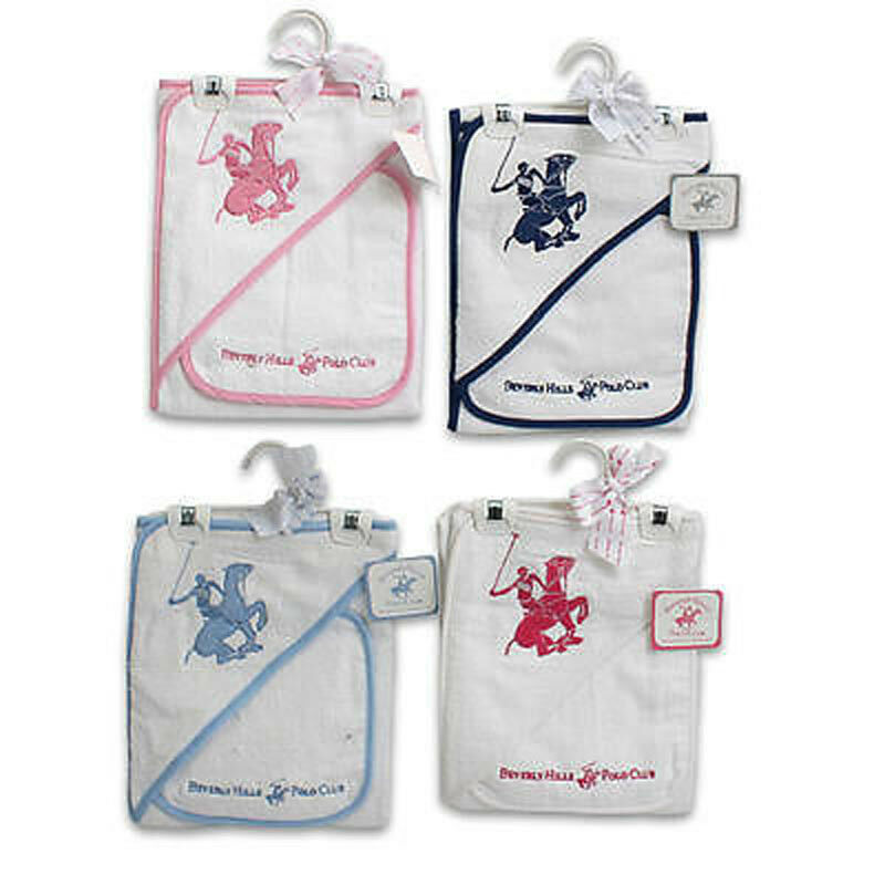 Baby Gift Baskets Beverly Hills : Beverly hills polo club baby infant hooded towel