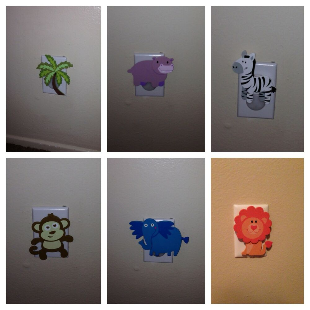 Wall outlet plugs baby room kids room bathroom decoration ebay