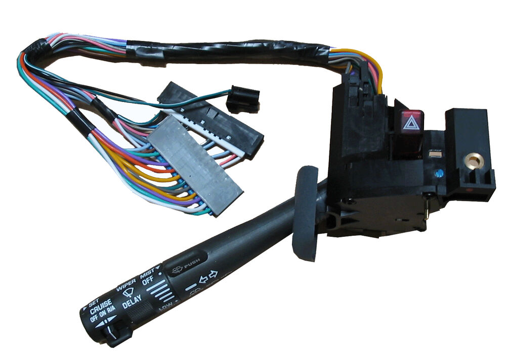 Gm Cruise Control Switch : Chevy gmc windshield wiper arm turn signal lever switch