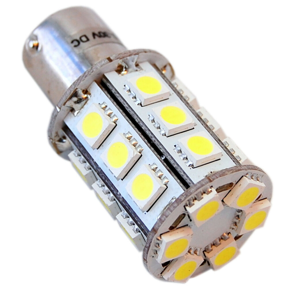 1x Ba15s Single Led Bulb Replacement For 1141 1156 Rv Tail Light Interior Ebay