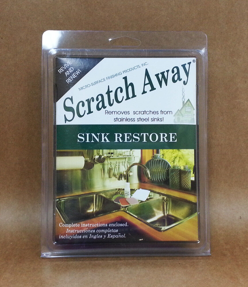 Micro Mesh Scratch Away Remover Stainless Steel Sink