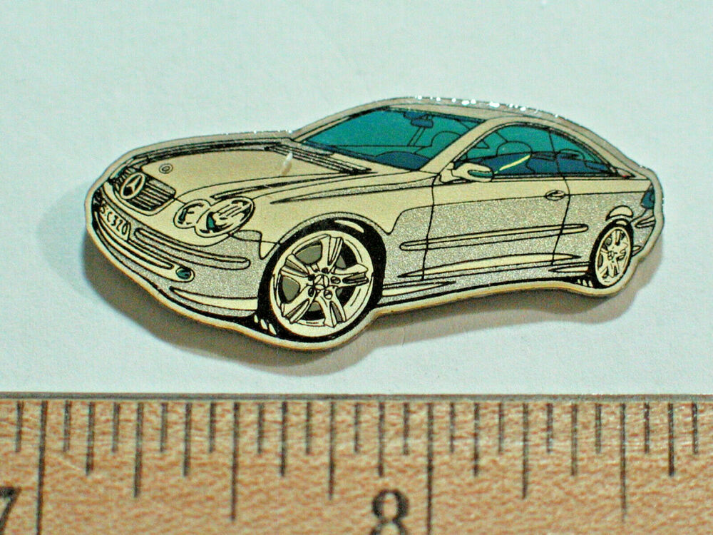 Mercedes benz c edition automobile pin badge m64 ebay for Mercedes benz badges