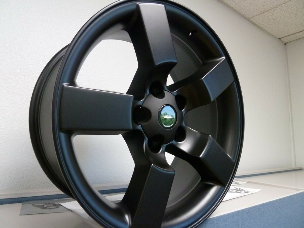 4 Set 20 Quot Satin Flat Black Ford F150 Lightning Expedition Wheels Rims 1997 04 Ebay