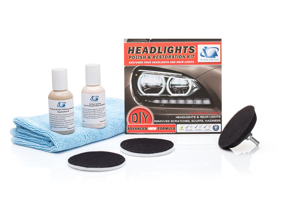 how to clean my headlight lens