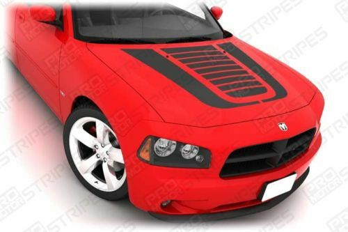 Dodge Charger Hood Graphics Stripes Decals 2006 2007 2008
