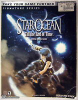 Star Ocean Till the End of Time (Playstation 2) Brady Strategy Guide Hint Book