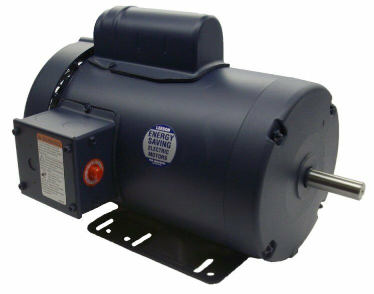 3 hp 3450 rpm 145t 230v leeson electric motor tefc new for 50 hp electric motor price
