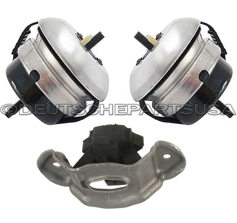 Jaguar S Type S Type 3 0 V6 Engine Motor Transmission Mount Mounts Set 3 Ebay