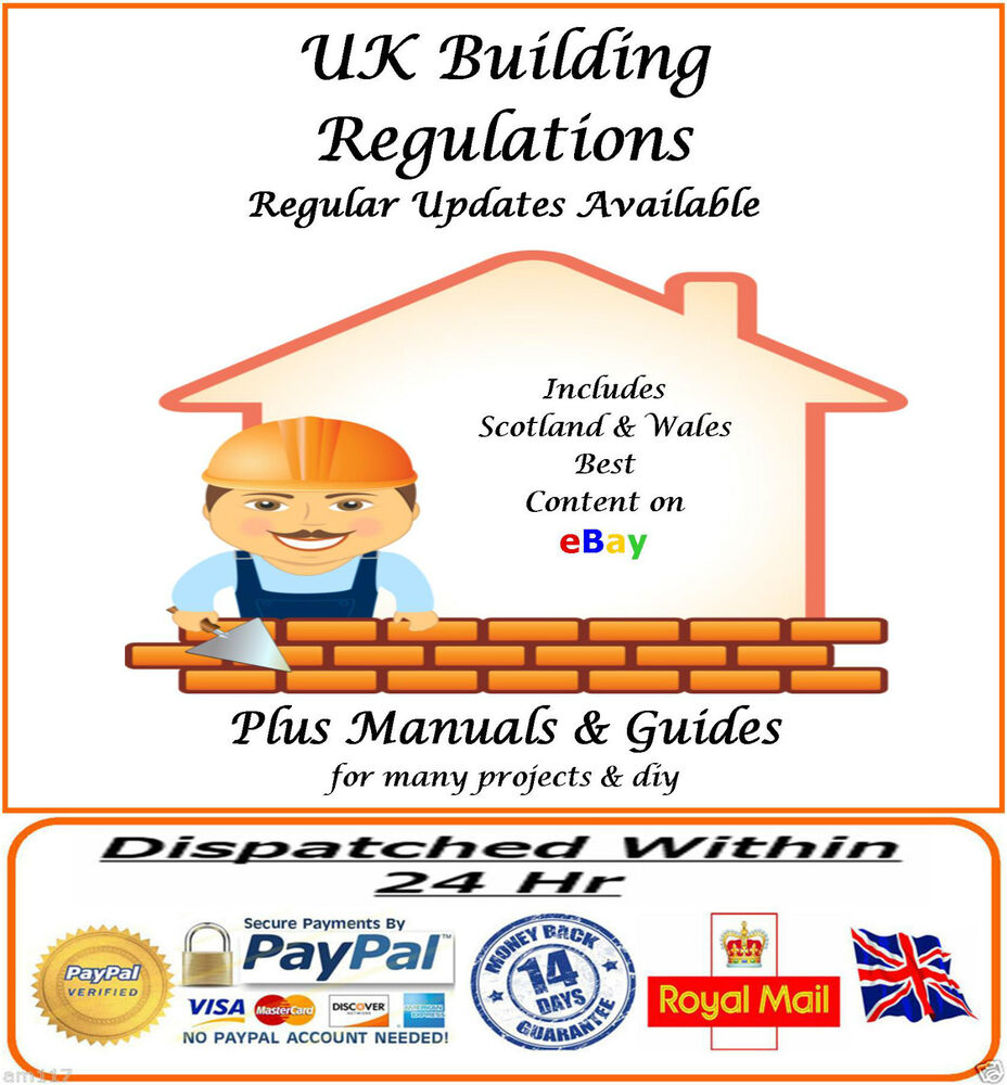 Uk building regulations comprehensive regs with updates for Construction rules and regulations