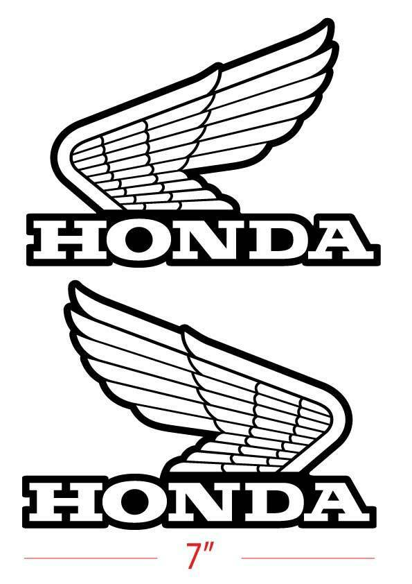 1set(2 Pieces) Honda Wing Decals Set Classic Car. Vampire Diaries Signs. Arabic English Calligraphy Lettering. Inch Lettering. Islamic Decals. House Lannister Banners. Graffiti Murals. Craft Room Murals. Public Works Murals