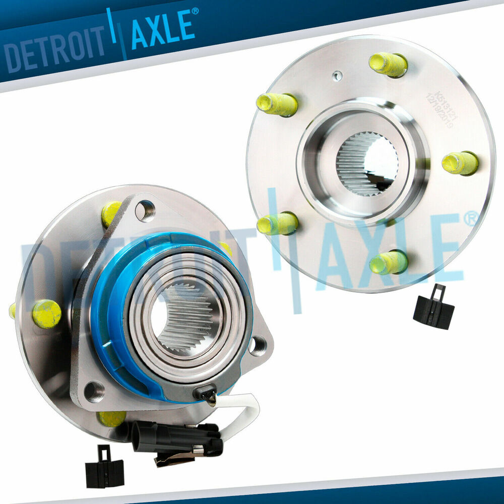 Aztec Chevrolet Buick Gmc In Beeville: Front Wheel Hub Set With ABS For 2002 2003 2004 2005 Chevy