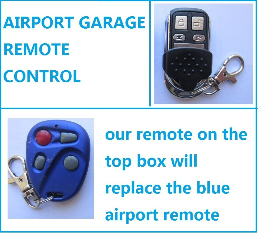 Airport Garage Door Gate Remote Control Replacement High