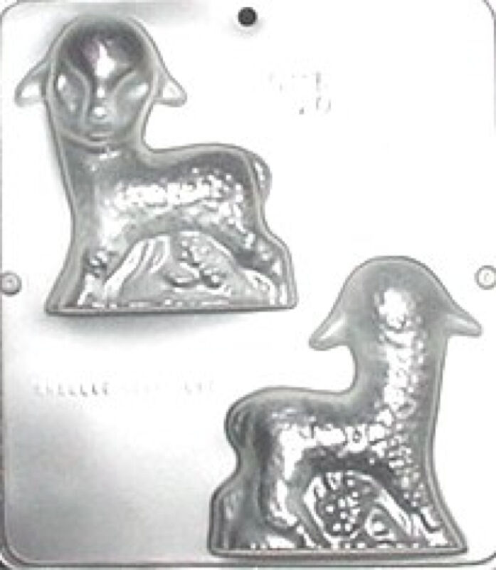 42 Best Dck Chocolate Molds Images On Pinterest: Lamb Assembly Chocolate Candy Mold Easter 840 NEW