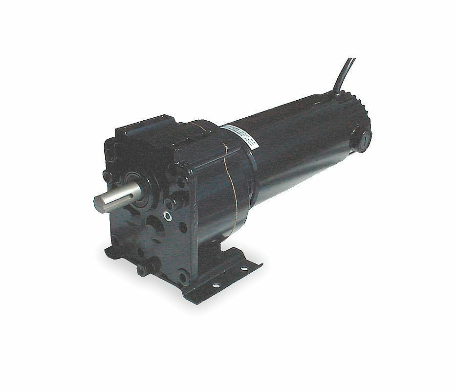 Dayton model 2h575 dc gear motor 90 rpm 1 4 hp 90vdc ebay for 4 rpm gear motor