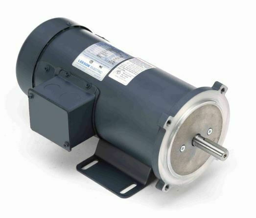 3 4 hp 1750 rpm 90 volts dc 56c frame tefc leeson electric for 3 4 hp electric motor