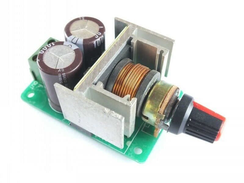 Dc Motor Speed Controller Infinitely Variable Pwm Motor