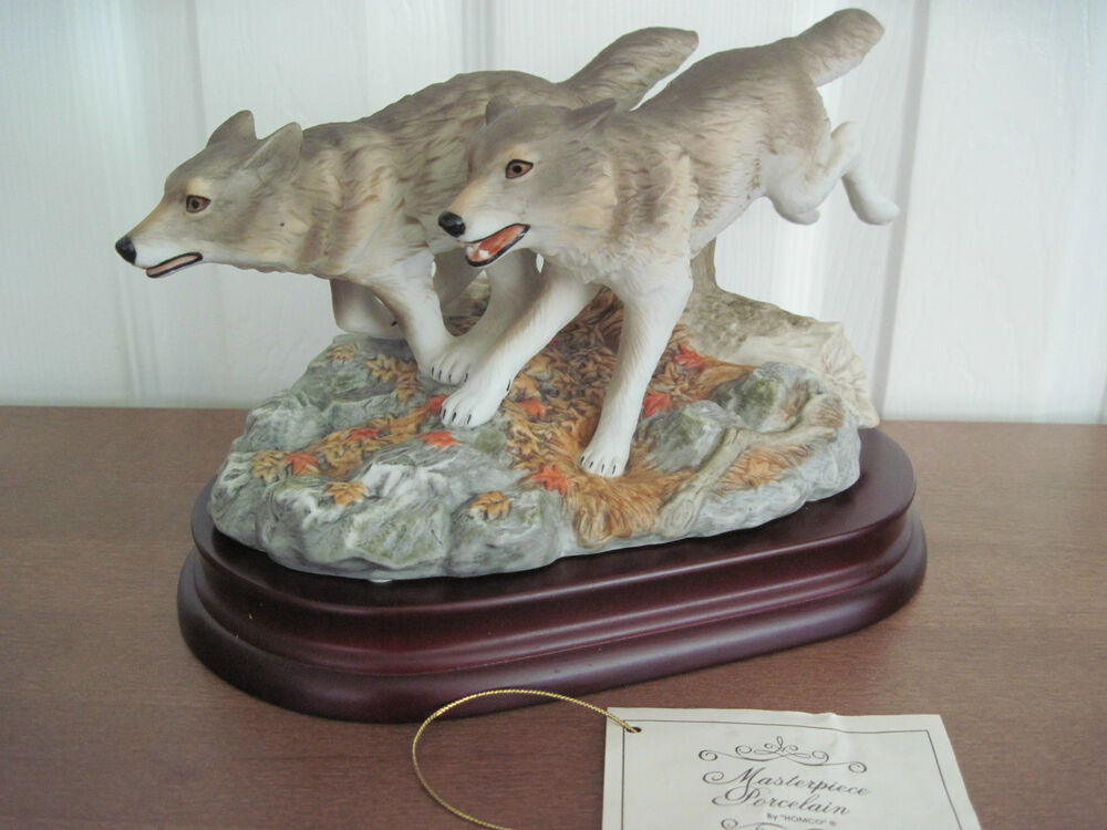 Home Interiors Gray Wolves Running Endangered Species