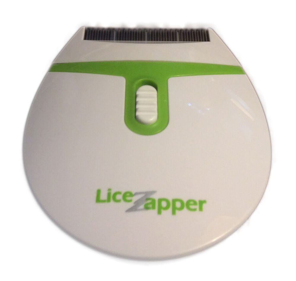 Lice zapper electric electronic head lice nit comb new ...