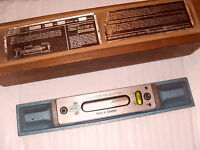 "Memo No.3 Engineers Precision Level - 9 3/4"" Length Made In Sweden - As Photo"