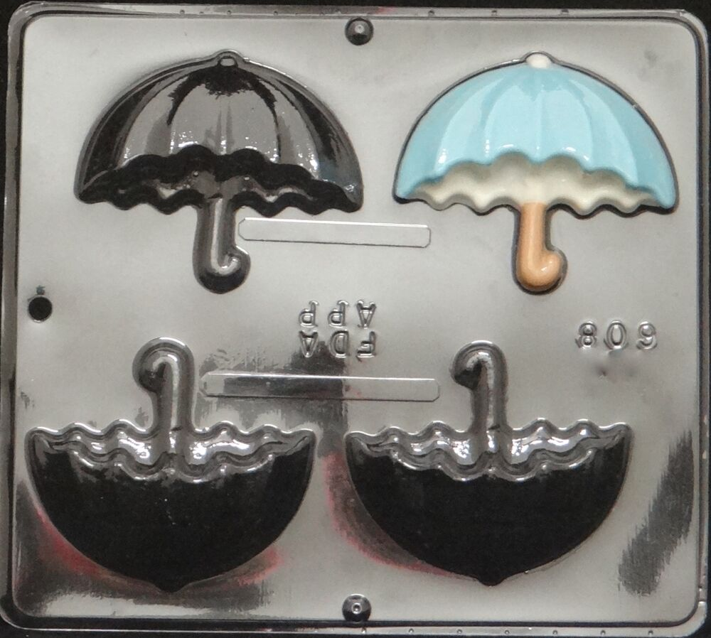 umbrella side view chocolate candy mold baby shower 608 new ebay