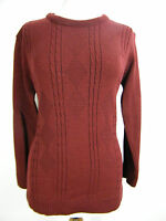 BEAUTIFUL MAROON  JUMPER,  WARM, COMFY, BRAND NEW WITH TAGS, SIZE 12 14 16 18 20