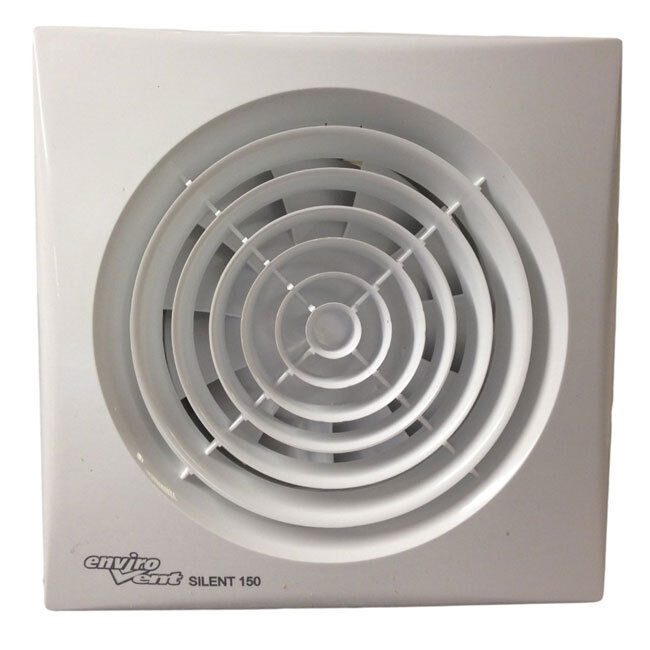 6 Duct Fan Extractor : Envirovent silent cz quot extractor fan for mm