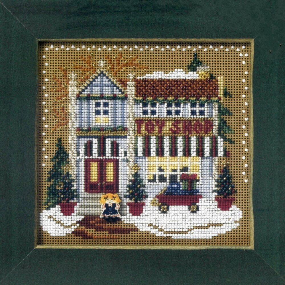 shop beaded cross stitch kit mill hill 2006 buttons