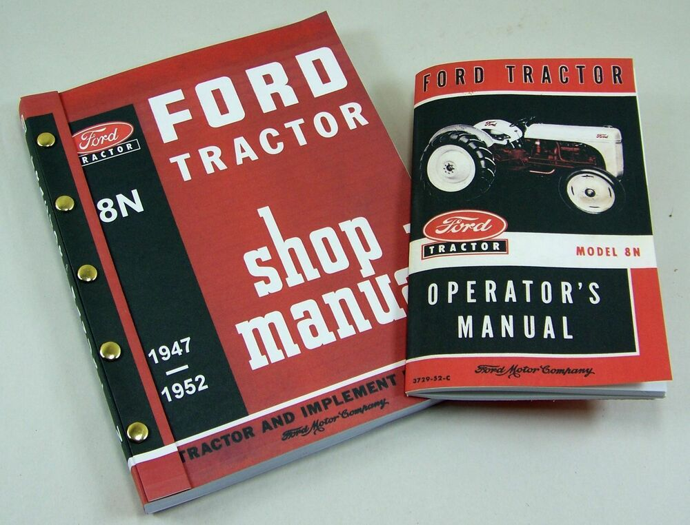 lot ford  tractor shop manual owners operators service