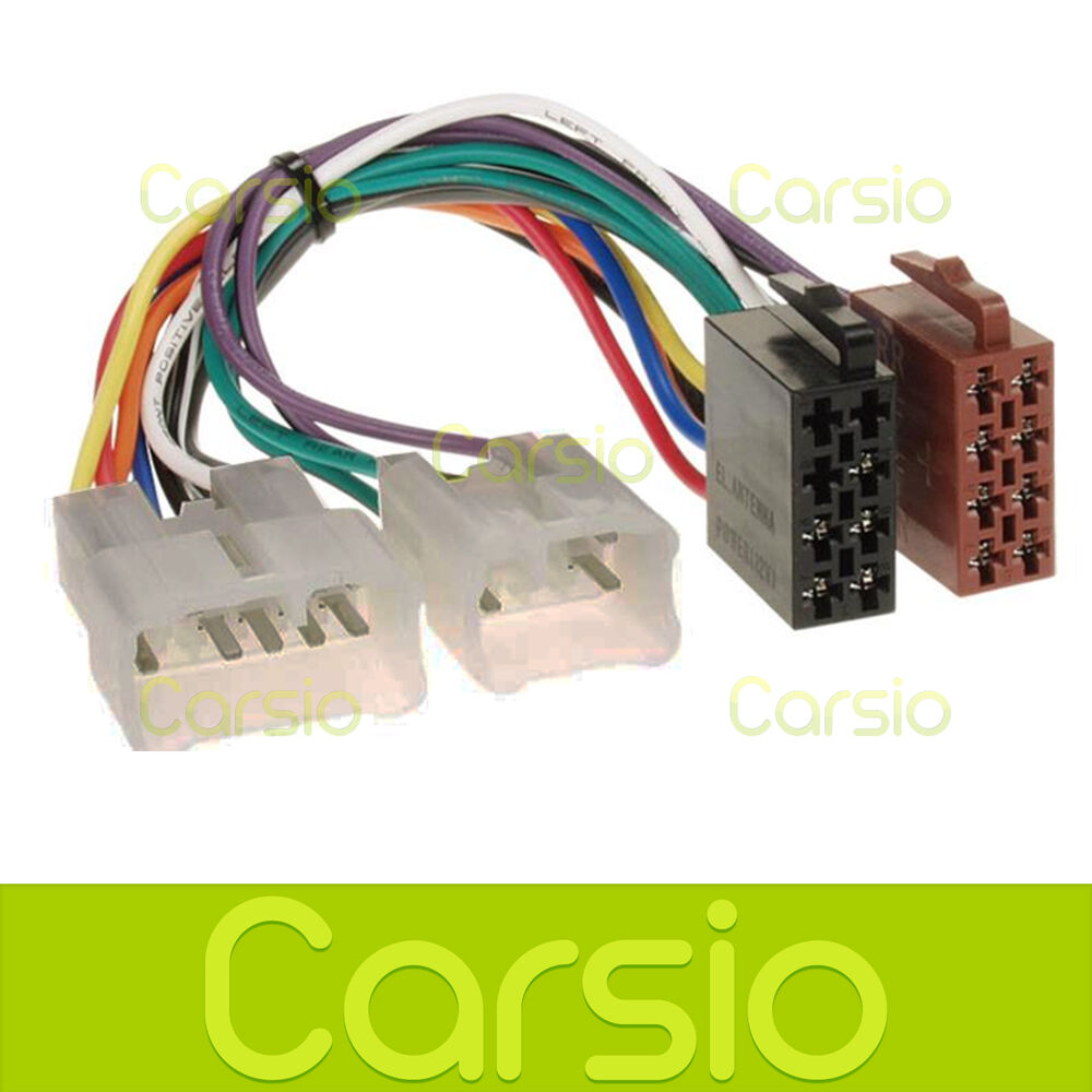 Toyota celica corolla iso wiring harness connector stereo