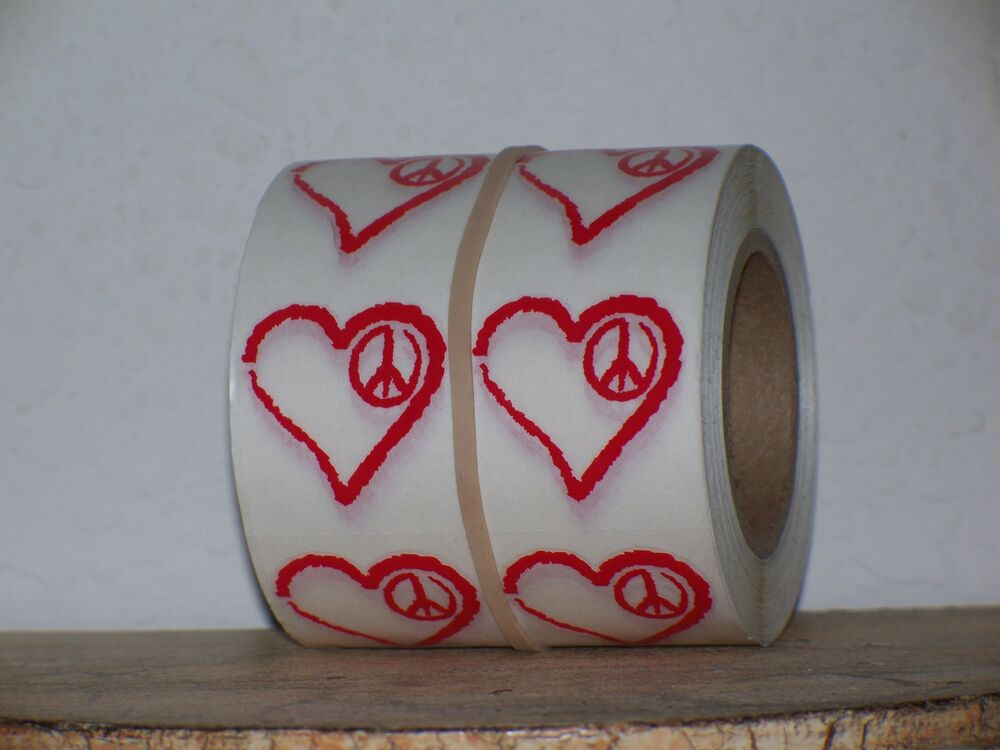 Lot 10 red authentic playboy heart peace tanning stickers for Tanning beds and tattoos