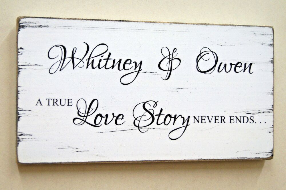 True Love Story Never Ends Wedding Engagement Valentine Gift Idea ...