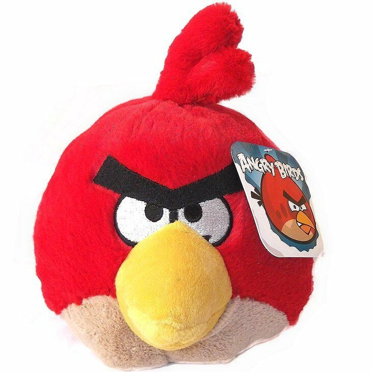 8 angry birds plush cuddly soft toys choose your favourite ebay - Angry birds toys ebay ...