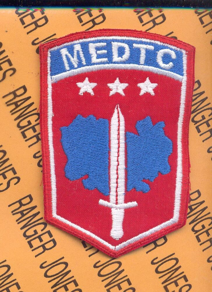 Us army military equipment delivery team cambodia medtc medical patch