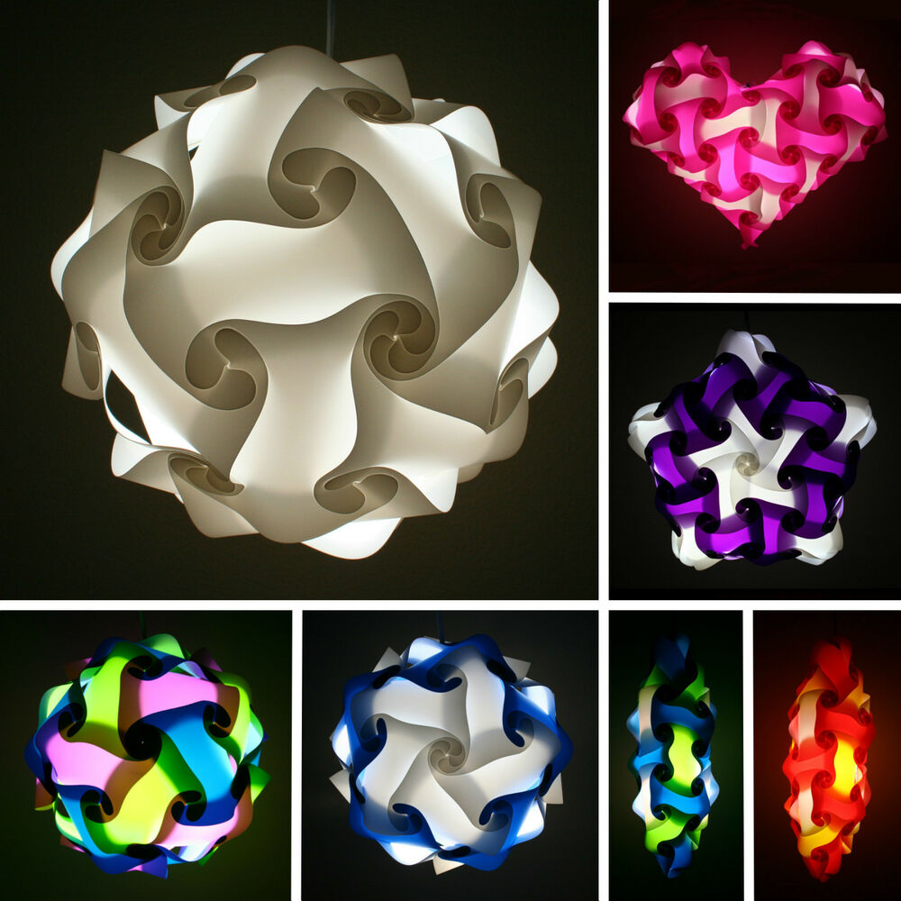 iq lights puzzle lights infinity lights jigsaw lights various sizes and colors ebay. Black Bedroom Furniture Sets. Home Design Ideas